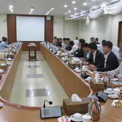 平成27年8月ミャンマー・タイミッション(ミャンマー商工会議所連盟へ訪問)