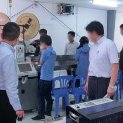 平成27年2月ベトナム・カンボジアミッション(カンボジア現地の日系企業を訪問)